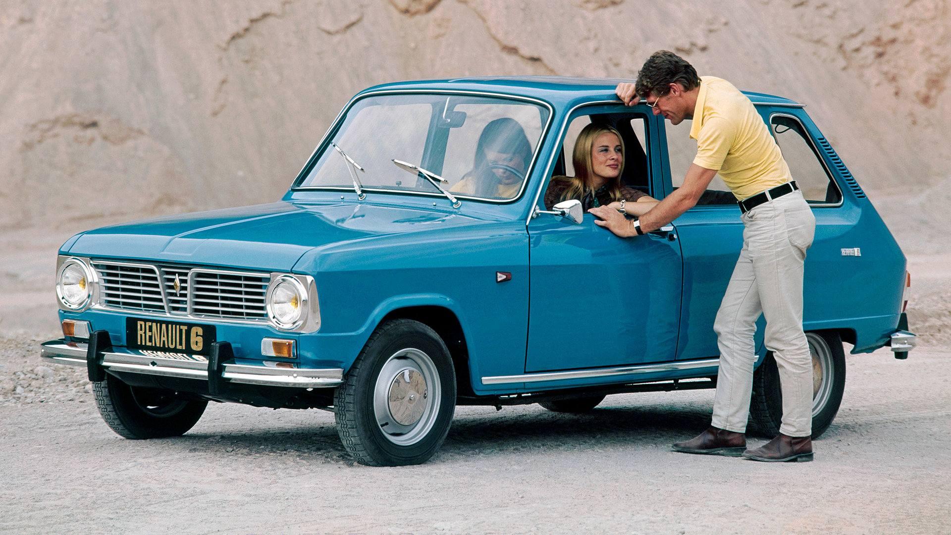 Coche del día: Renault 6