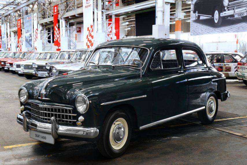 SEAT 1400, de coche de estado a contrabandista