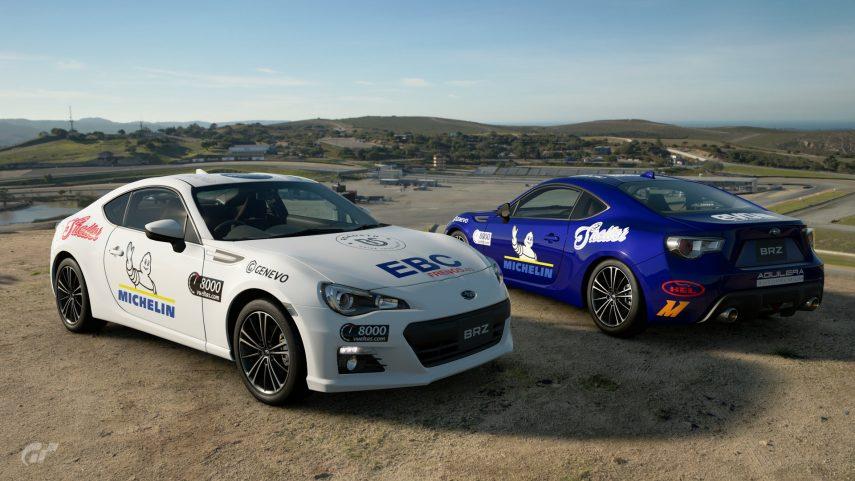 Subaru BRZ Copa Virtual 8000vueltas 3