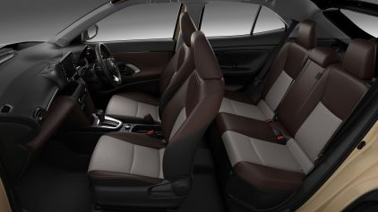 Toyota New Yaris Cross interior JDM 2