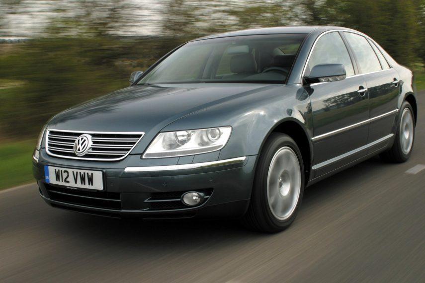 Coche del día: Volkswagen Phaeton W12