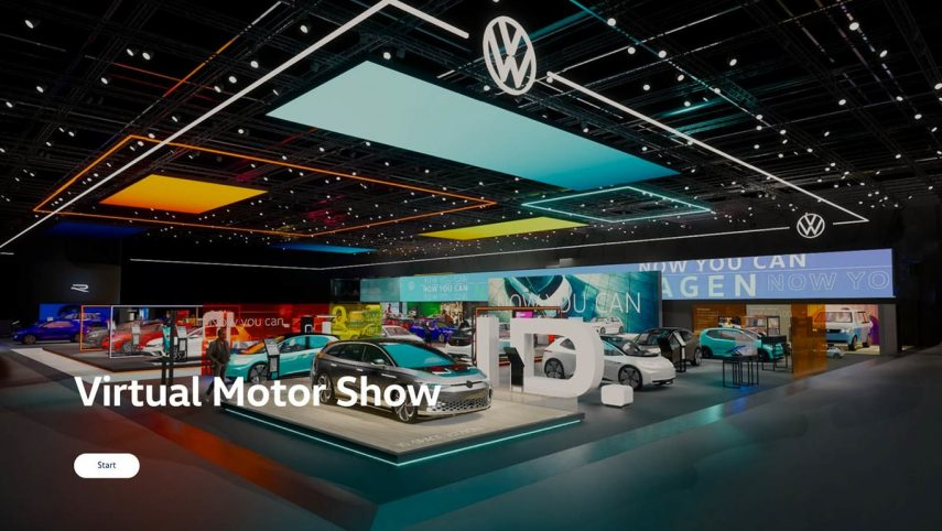 Volkswagen Stand Virtual 2020