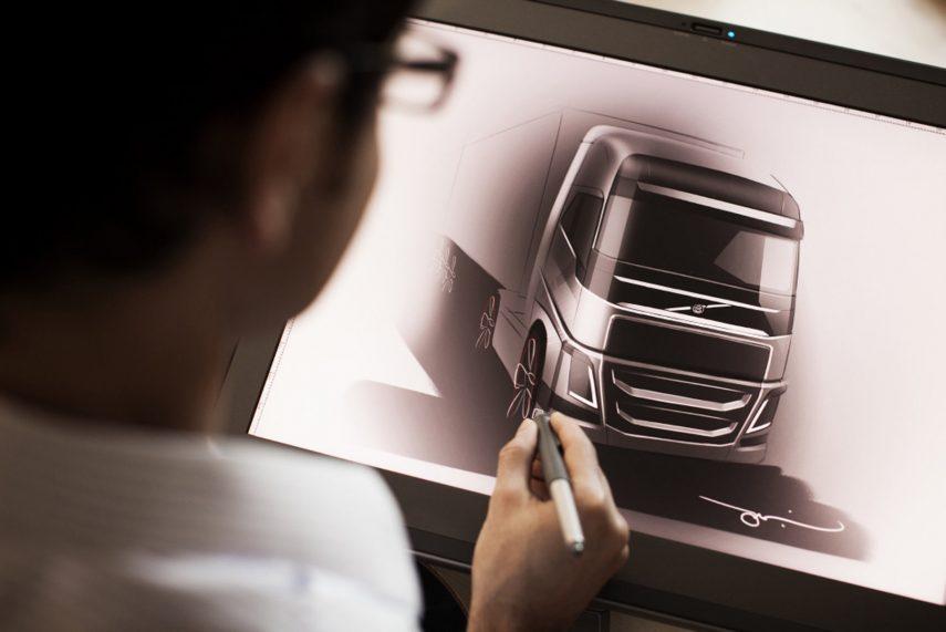 Volvo Trucks boceto