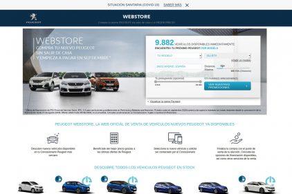 Webstore Peugeot