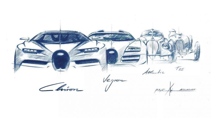 03 Bugatti parrilla sketch