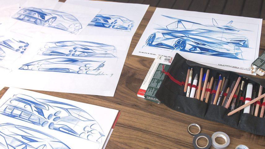 04 Lambo Huracan EVO sketch