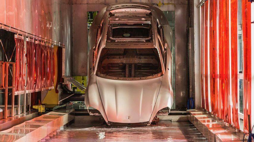 05 Porsche Taycan electroforesis