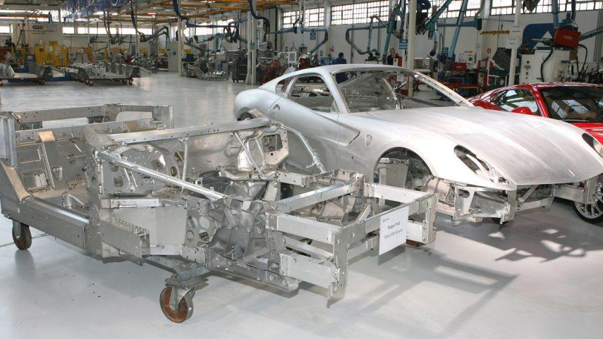 19 Ferrari 599 GTB chasis