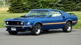 1969 Ford Mustang Mach 1 351 1 63C
