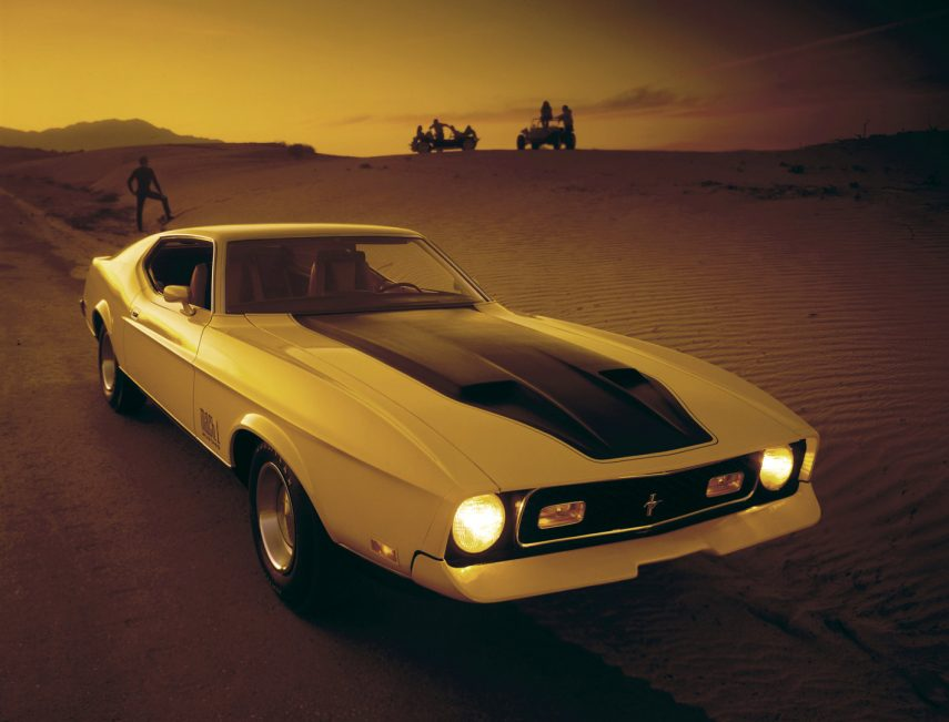 1971 Ford Mustang Mach 1 3 63C