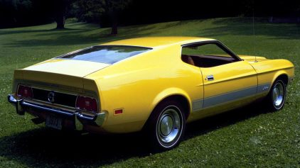 1973 Ford Mustang Mach 1 2 63C
