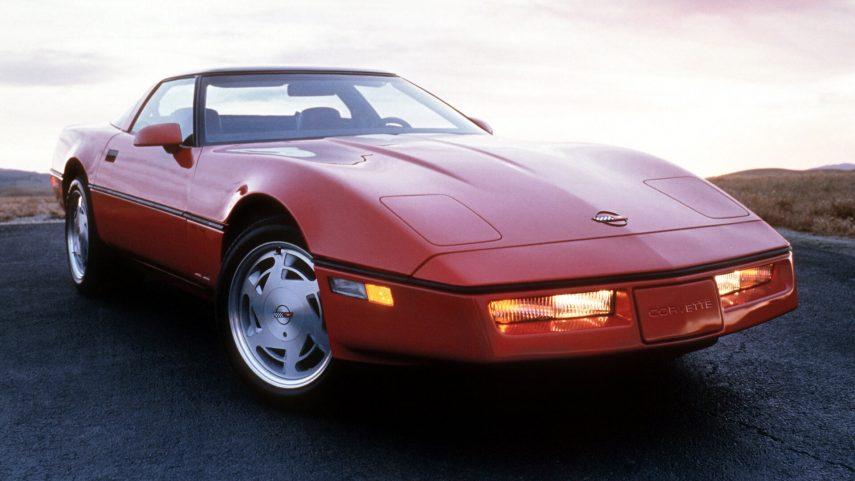 1990 Chevrolet Corvette Coupe ZR 1 2