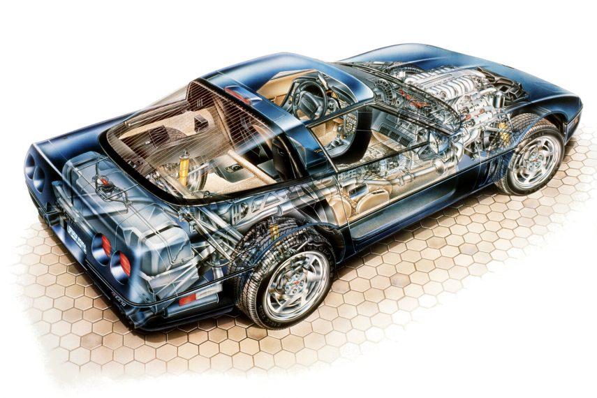 1990 Chevrolet Corvette Coupe ZR 1 4