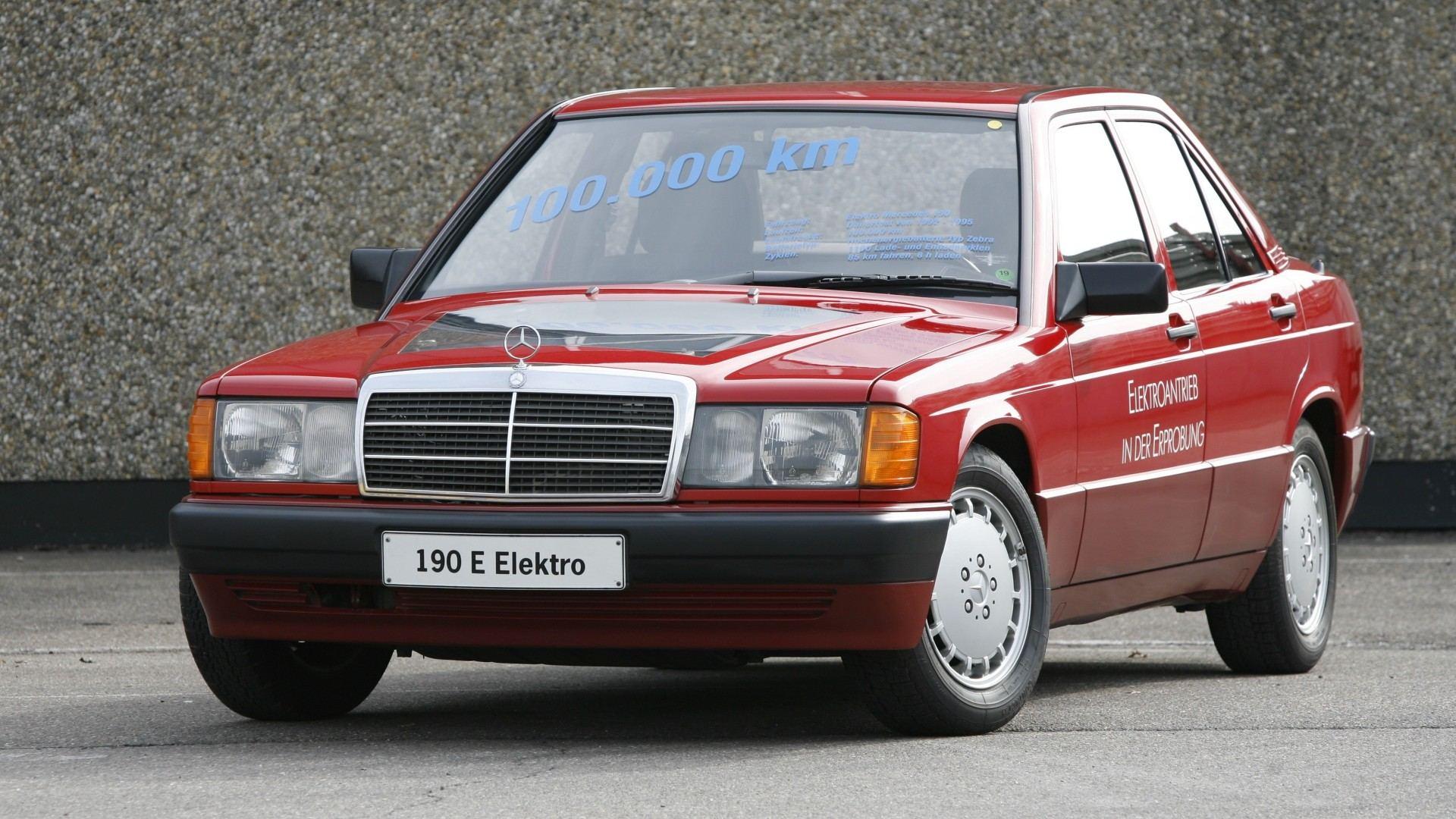 El Mercedes-Benz 190 eléctrico fue bien recibido, pero nada vimos de él