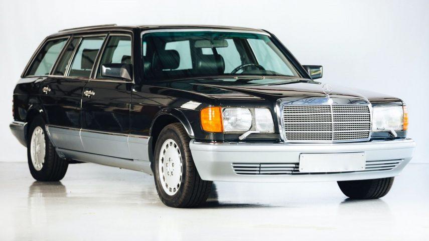 El Mercedes-Benz 560 TEL es el Clase S familiar (W126) que nunca existió