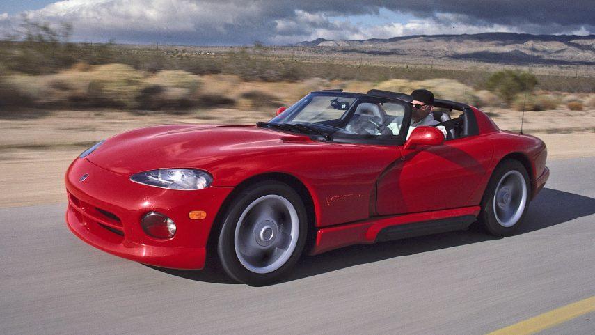 Coche del día: 1992 Dodge Viper RT/10 (SR I)