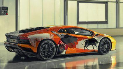 25 Skyler Grey Lamborghini Aventador