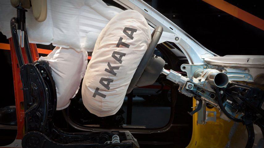 56 millones de airbags Takata no requerirán ser sustituidos