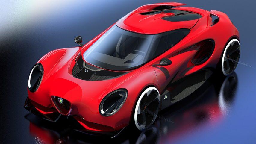 Así podría ser la segunda generación del Alfa Romeo 4C