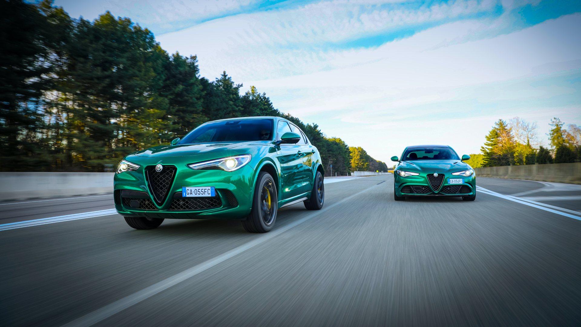 Los Alfa Romeo Giulia y Stelvio Quadrifoglio reciben pequeñas novedades