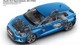 Audi A3 tecnología MHEV 1