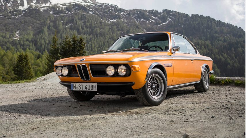 Coche del día: BMW 3.0 CSL (E9)