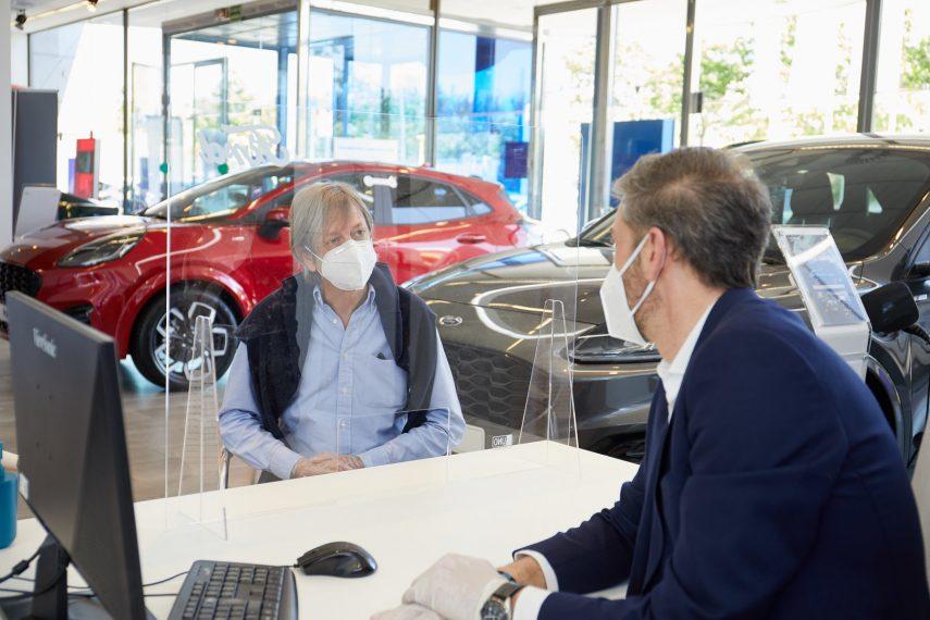 Concesionario Ford reapertura