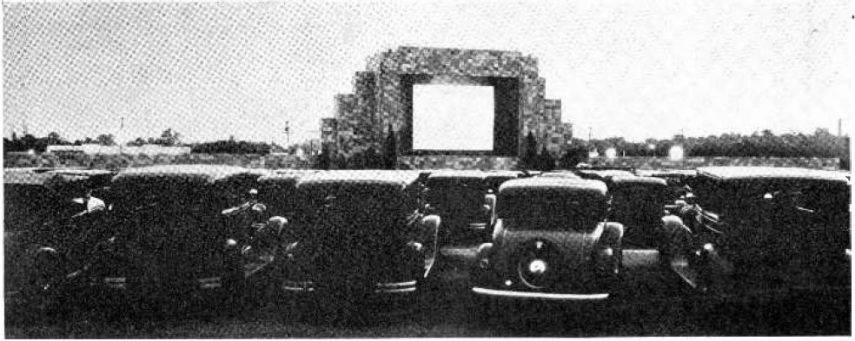 Drive in theatre Camden New Jersey 1933