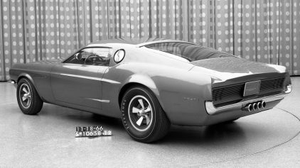 Ford Mustang Mach 1 Prototype 2 1966