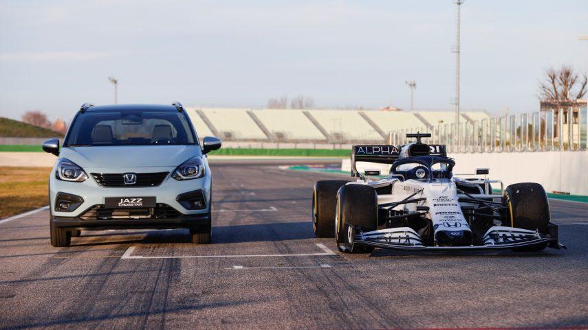 El Honda Jazz híbrido y la Fórmula 1