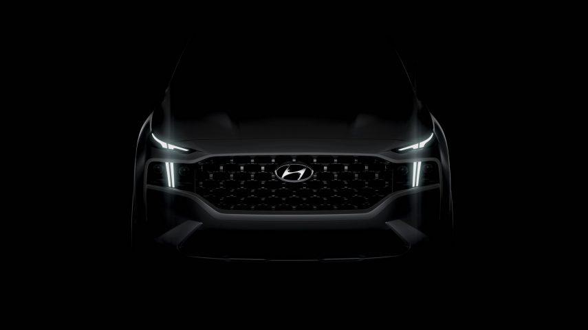 Hyundai Santa Fe 2021, aquí está el primer teaser
