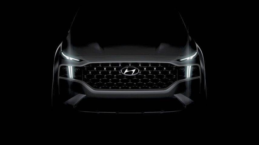 Hyundai Santa Fe 2021 Teaser Editado