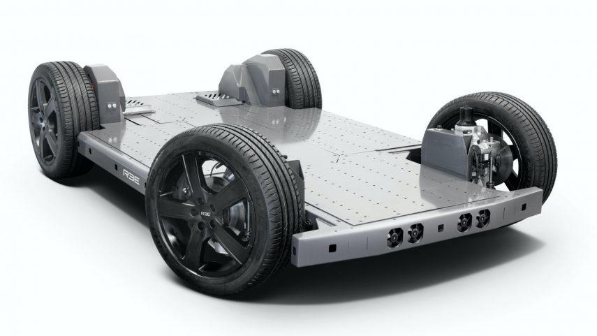 """REE Automotive presente su plataforma eléctrica """"todo en uno"""""""