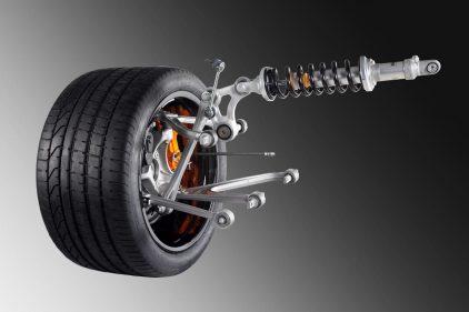 Lamborghini Aventador suspension