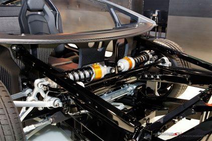 Lamborghini Aventador suspension front