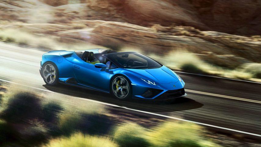 Lamborghini Huracán EVO RWD Spyder, porque siempre se puede disfrutar un poco más