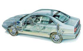 Lancia Kappa Coupe esquema