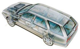 Lancia Kappa SW esquema
