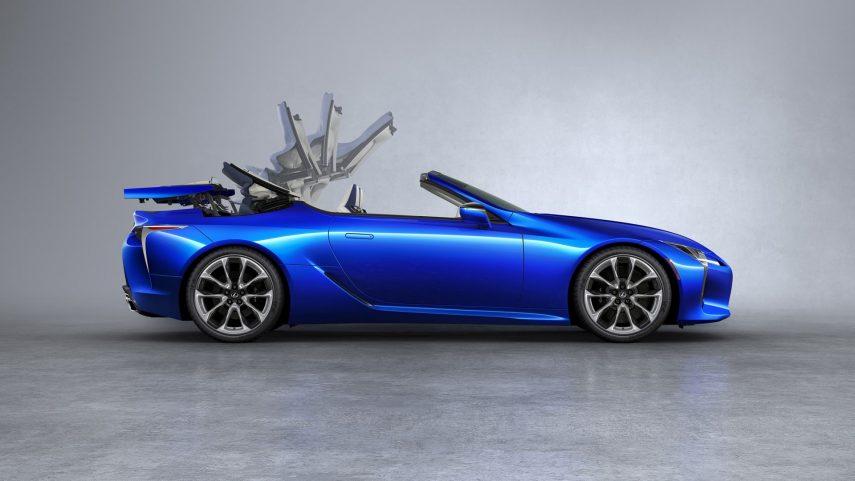 El Lexus LC Cabrio no es solo un descapotable más
