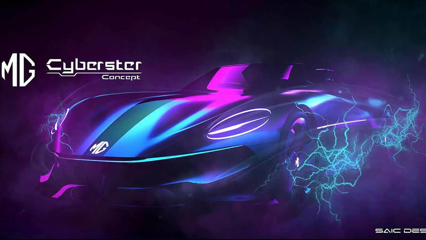 MG Cyberster Concept, regresa la tradición de los roadster ingleses