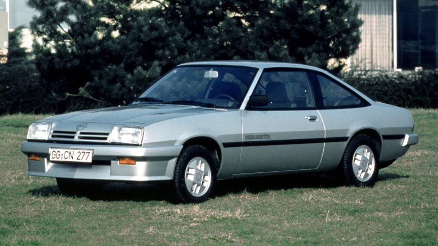 Coche del día: Opel Manta (B2)