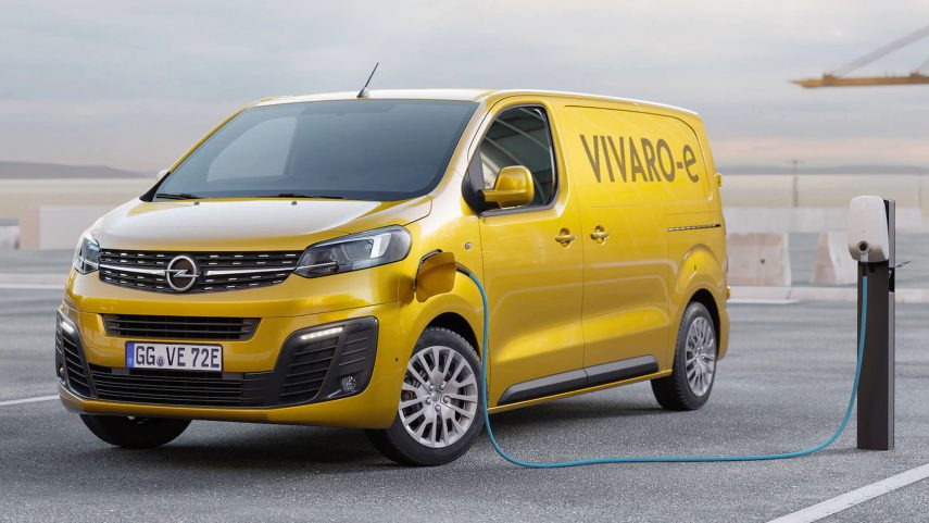 Opel desvela los detalles del Vivaro-e