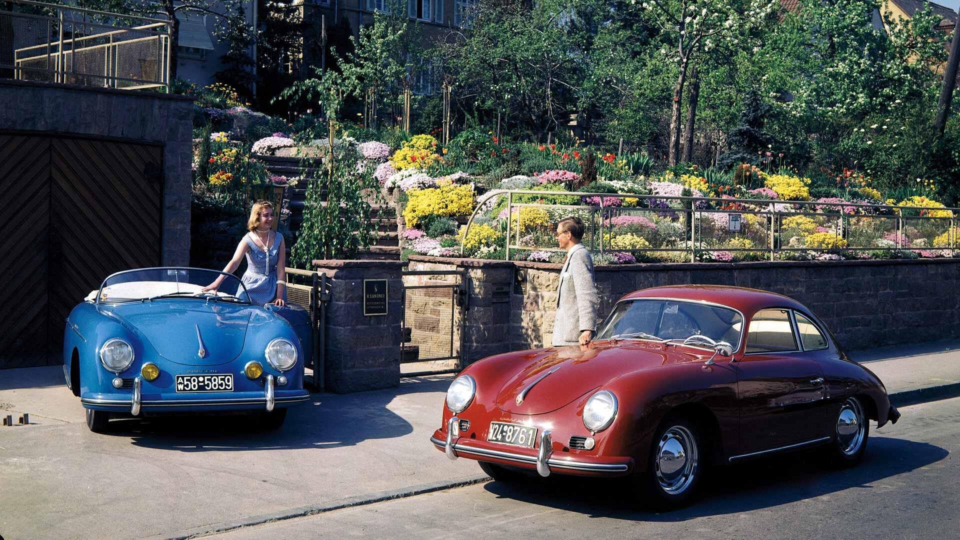 Porsche 356 Speedster y 356A Coupe