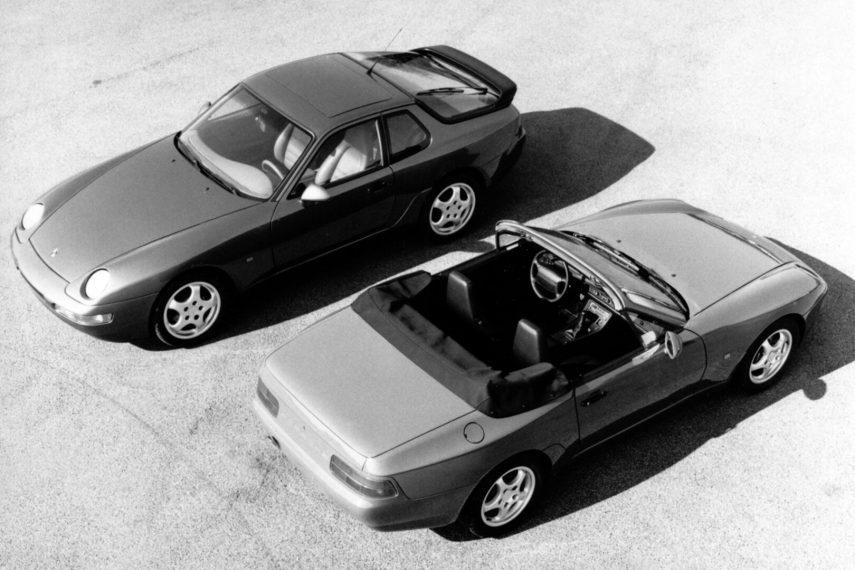 Porsche 968 Coupe Cabrio