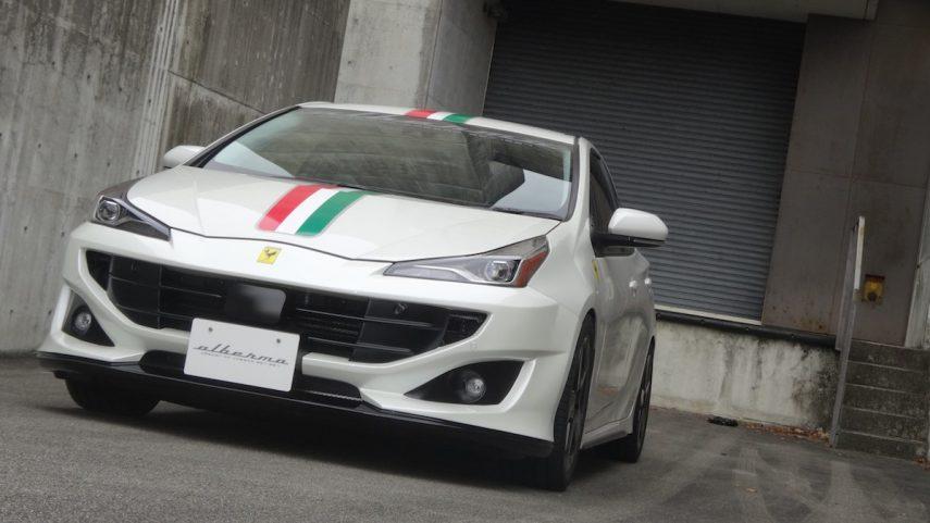 Toyota Prius Ferrari 19