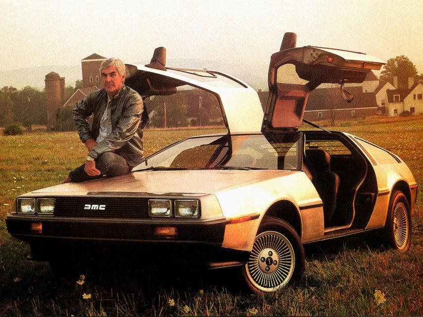 1981 DeLorean DMC 12 4