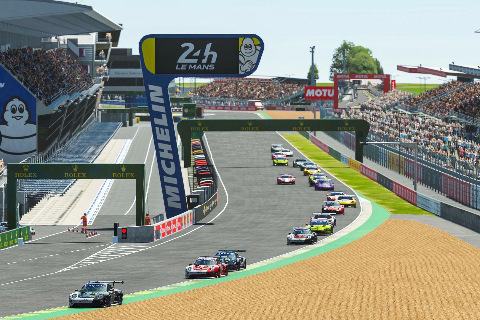 Porsche y Rebellion ganan las 24 Horas de Le Mans virtuales
