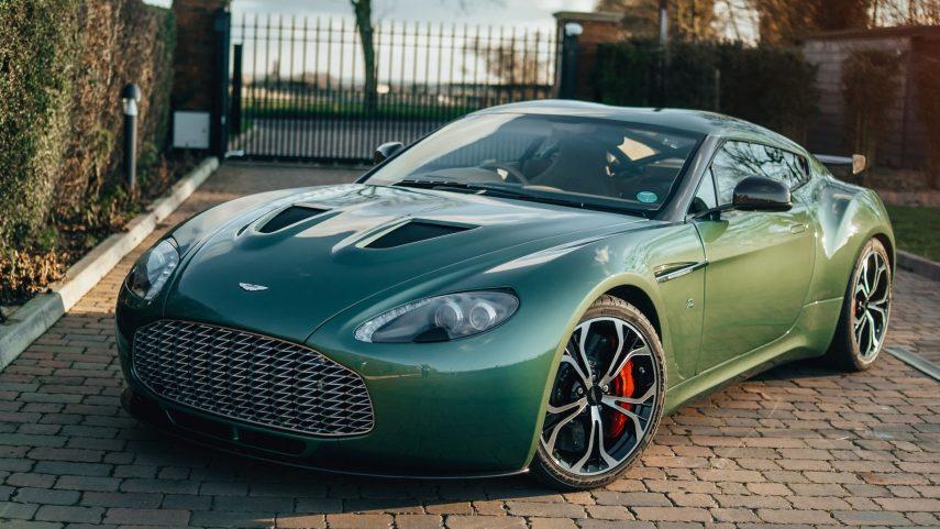 Este Aston Martin V12 Zagato es único en el mundo