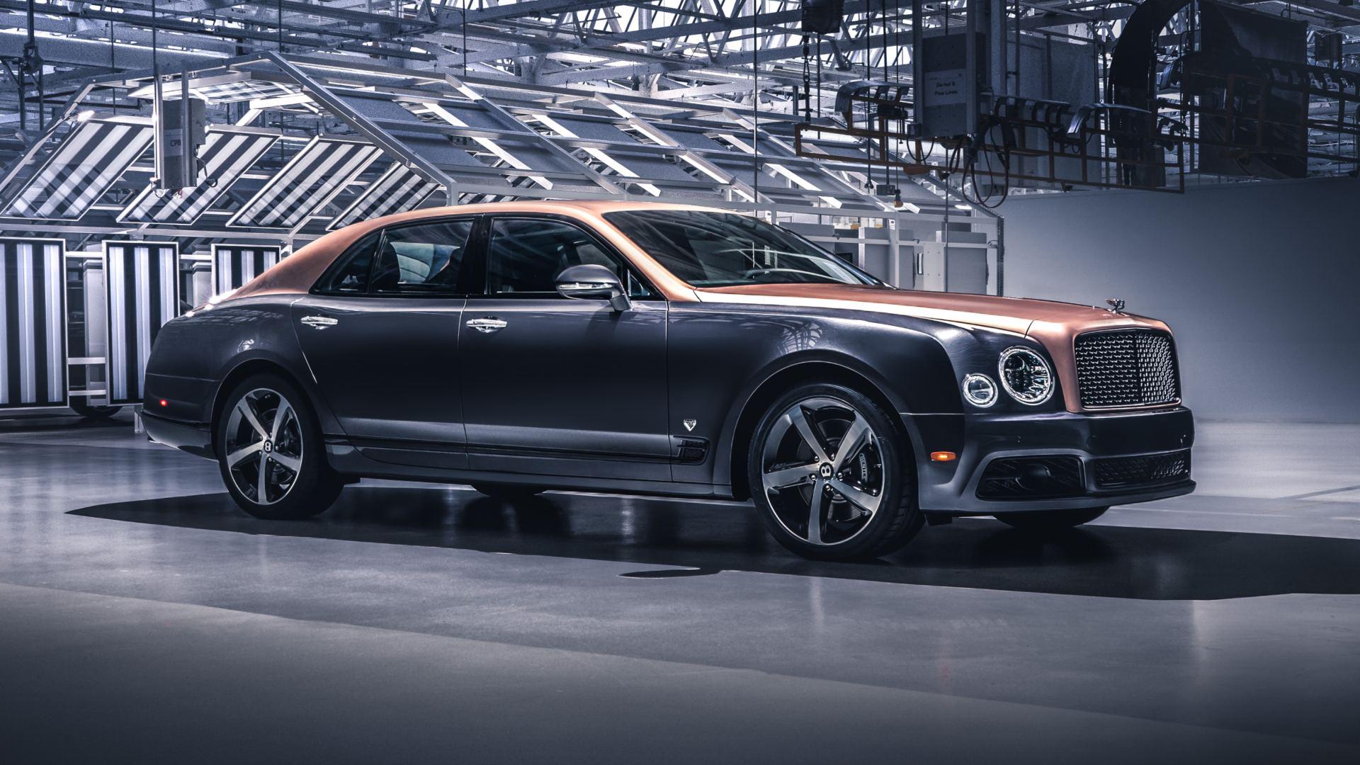 El Bentley Mulsanne llega al final de su producción