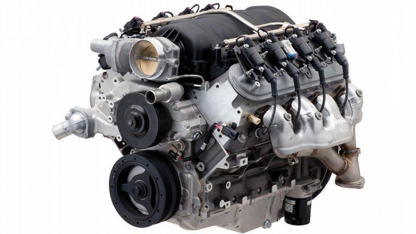 Chevrolet presenta su nuevo motor LS427/570